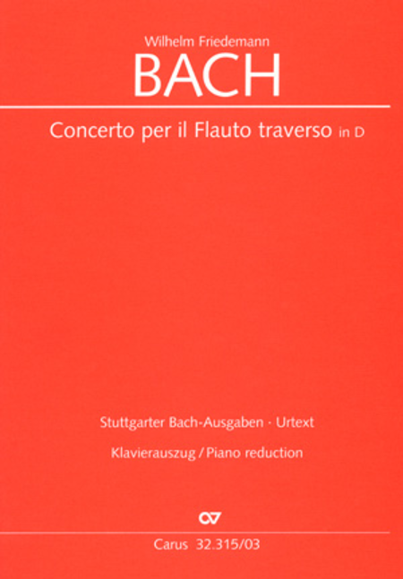 Flute concerto in D major