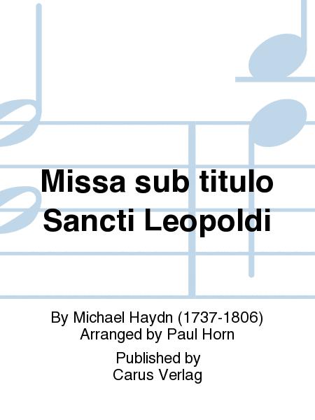 Missa sub titulo Sancti Leopoldi