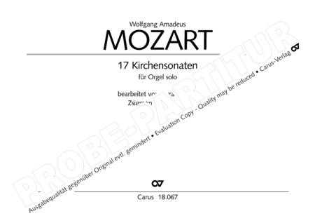 17 Church sonatas