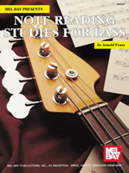 Note Reading Studies for Bass