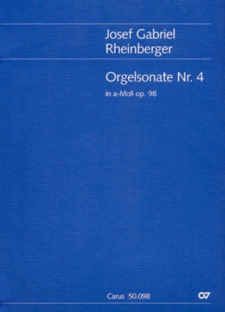 Organ Sonata No. 4 in A minor