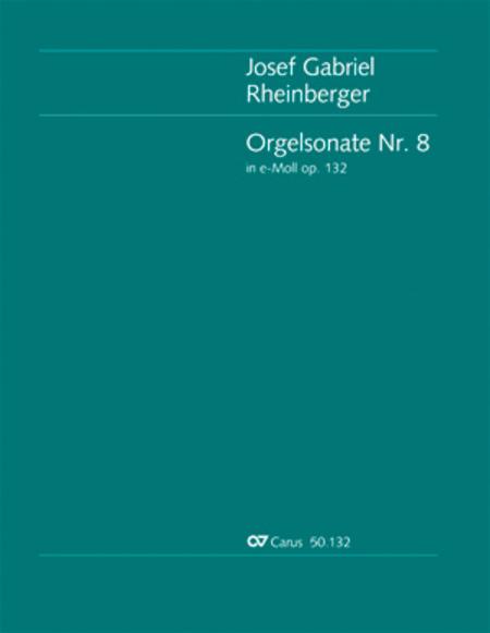 Organ Sonata No. 8 in E minor