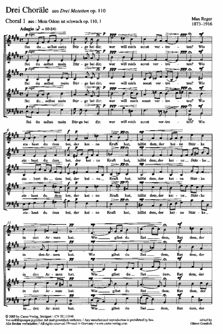 Drei Chorale