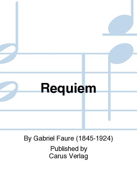 Requiem. Fassung fur Sinfonieorchester