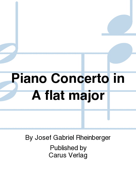 Piano Concerto in A flat major