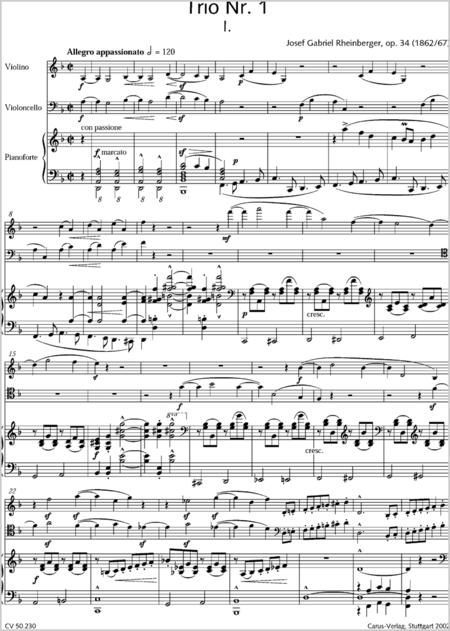Klaviertrios (Gesamtausgabe, Bd. 30)