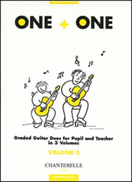 One + One Vol. 3 Score Graded Duos for Pupil & Teacher