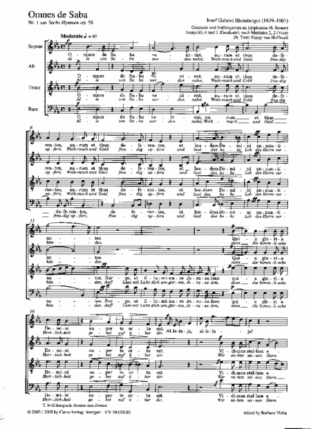 Zwei Hymnen aus op. 58