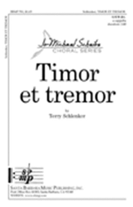 Timor et tremor