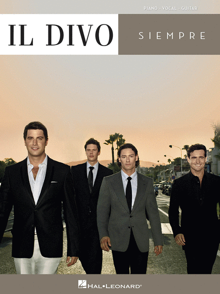 Siempre sheet music by il divo sheet music plus - Il divo songs ...