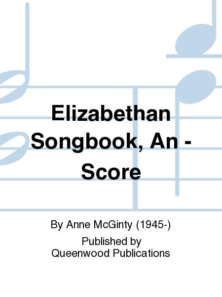 Elizabethan Songbook, An - Score