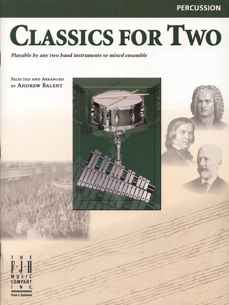 Classics for Two, Percussion