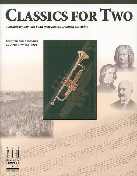 Classics for Two, B-flat Trumpet