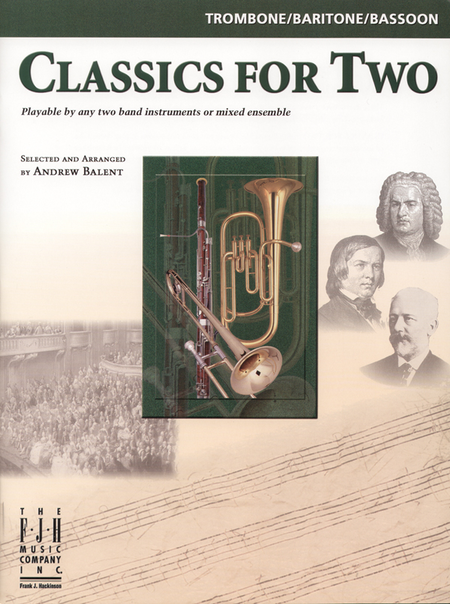 Classics for Two, Trombone/Baritone/Bassoon