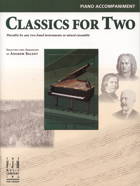 Classics for Two, Piano Accompaniment