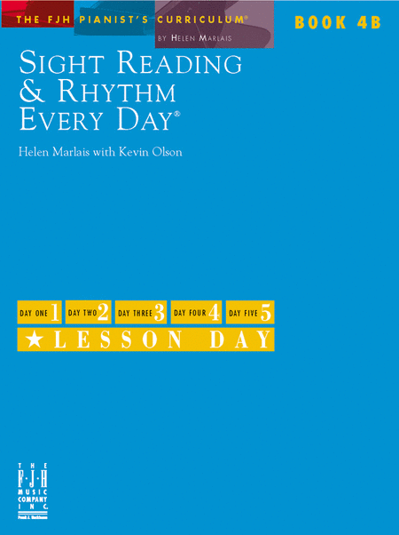 Sight Reading & Rhythm Every Day!, Book 4B