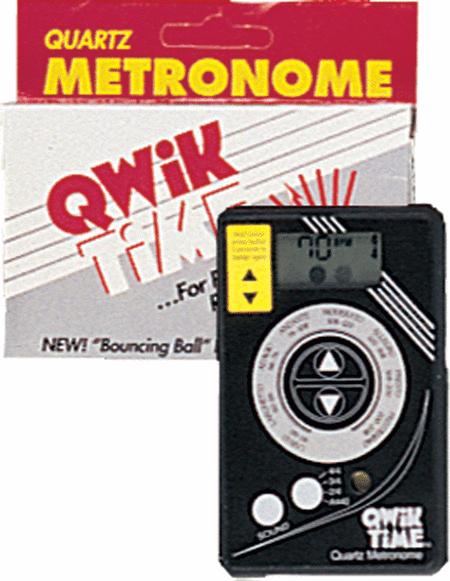 QT-5 Qwik Time Quartz Metronome - Credit Card Size