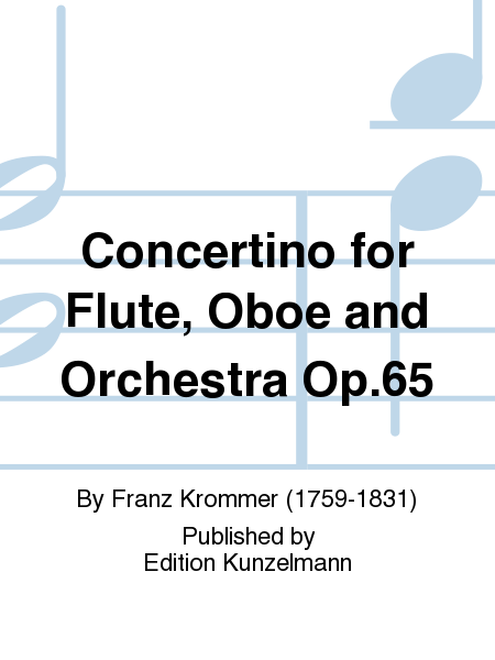 Concertino for Flute, Oboe and Orchestra Op.65