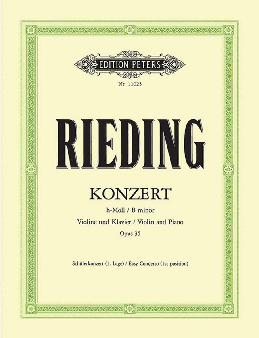 Concerto in B minor, Op.35
