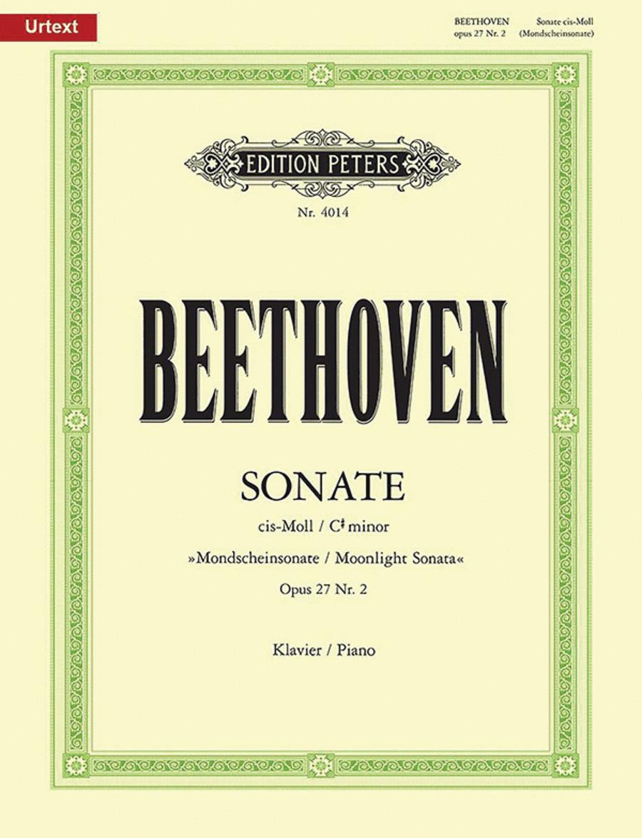 Piano Sonata in c# minor Op.27 No.2