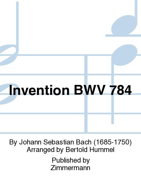Invention BWV 784