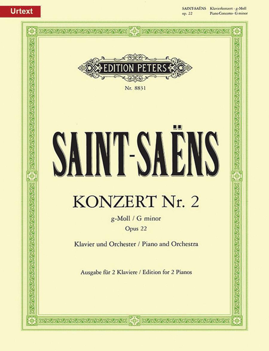 Piano Concerto No.2 in g minor Op.22 (1868)