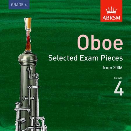 ABRSM Oboe Exam Pieces 2006 Grade 4 CD