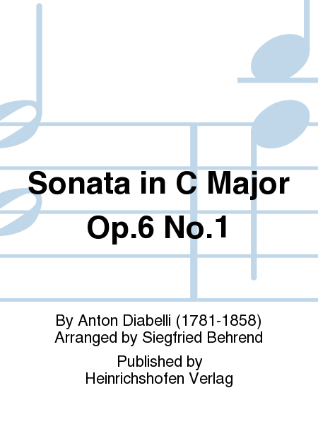 Sonata in C Major Op. 6 No. 1