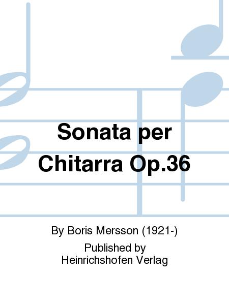 Sonata per Chitarra Op.36