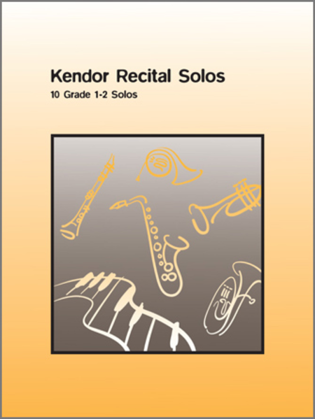 Kendor Recital Solos - Flute (Solo Book with CD)