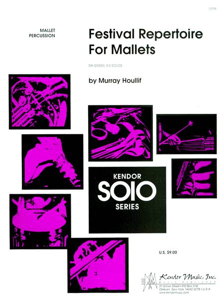 Festival Repertoire For Mallets