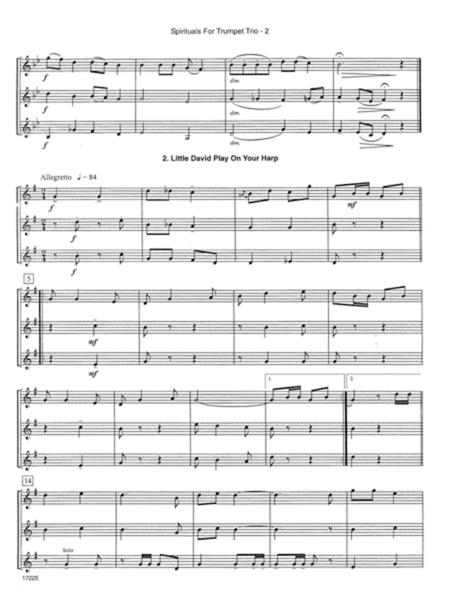 Spirituals For Trumpet Trio