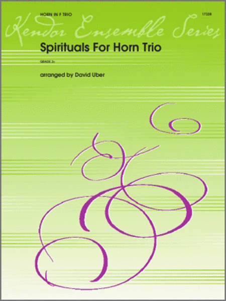 Spirituals For Horn Trio