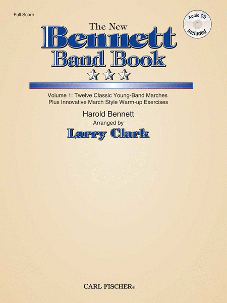 The New Bennett Band Book - Vol. 1 (Score with CD)