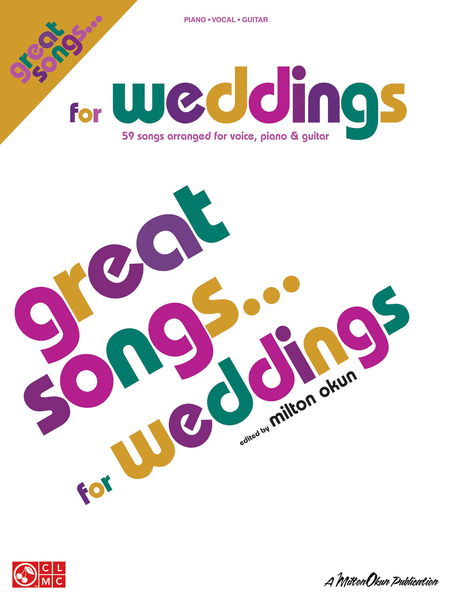 Great Songs for Weddings