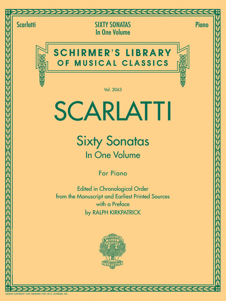 60 Sonatas, Books 1 and 2