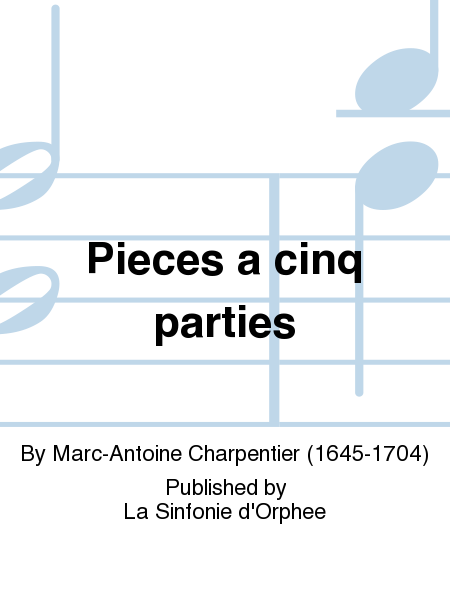 Pieces a cinq parties