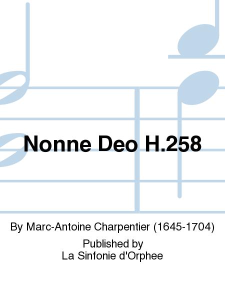 Nonne Deo H.258