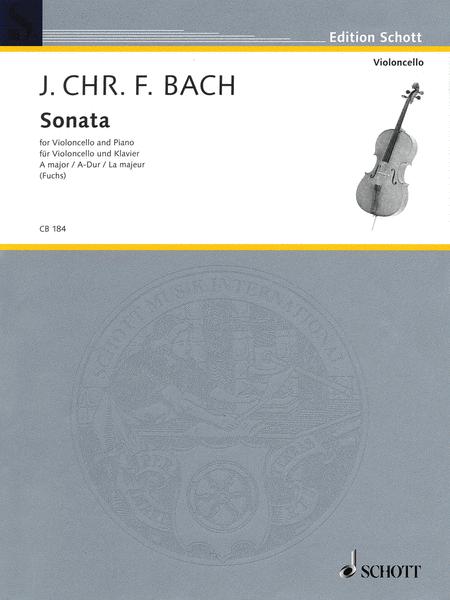 Sonata for Cello and Piano in A Major