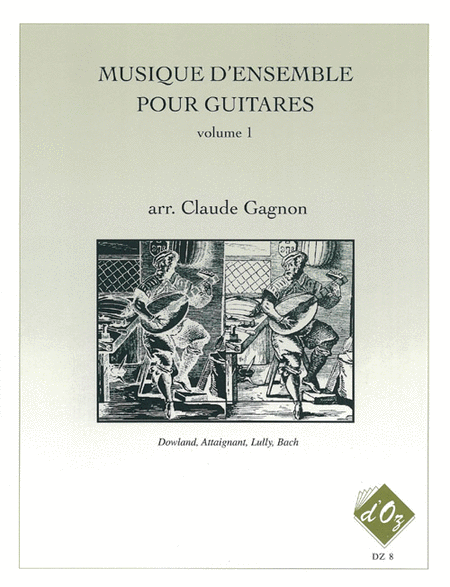 Musique d'ensemble pour guitares, Volume 1