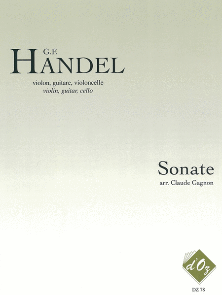 Sonate, opus 1, no 11