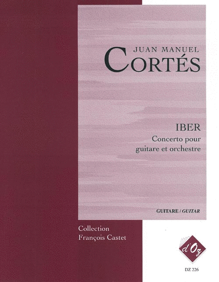 IBER - Concerto (2 cahiers, red.)