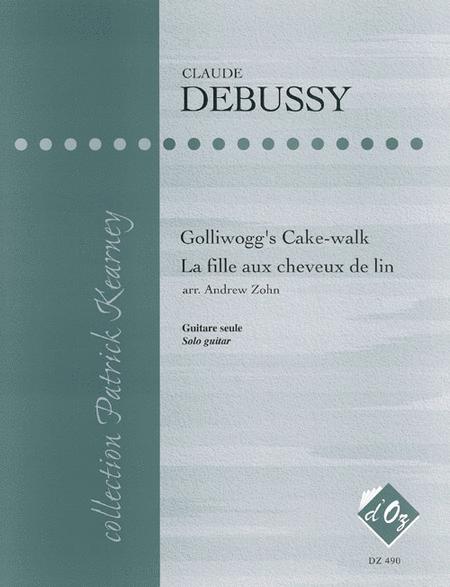 Golliwogg's Cake-walk, La fille aux cheveux de lin