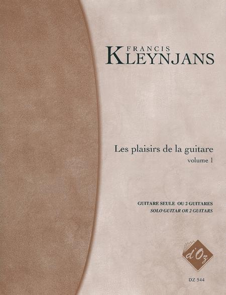 Les plaisirs de la guitare, Volume 1 (avec acc. par le prof.)