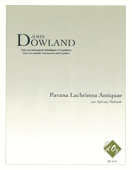 Pavana Lachrimae Antiquae