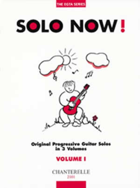 Solo Now! Volume 1 Original Progressive Guitar Solos