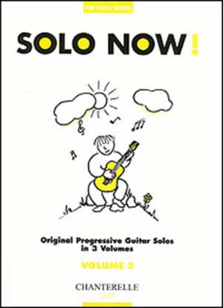 Solo Now! Volume 3 Original Progressive Guitar Solos