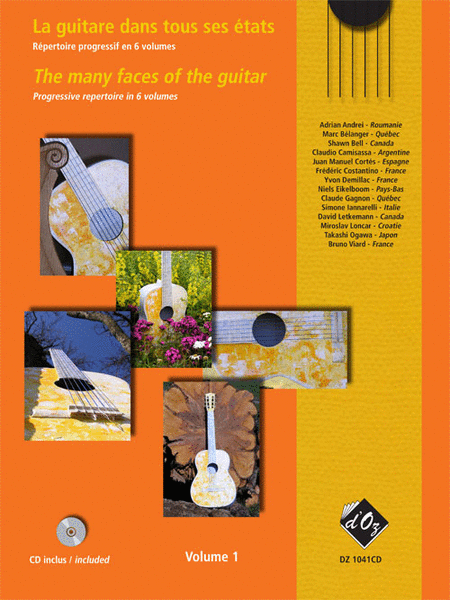 La guitare dans tous ses etats, Volume 1 (CD included)