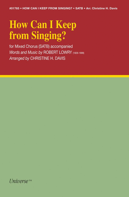 How Can I Keep Singing?