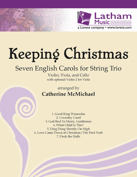 Keeping Christmas: Seven English Carols for String Trio